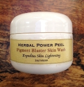HERBAL POWER PEEL Pigment Blaster Skin Wash 2oz/60gms
